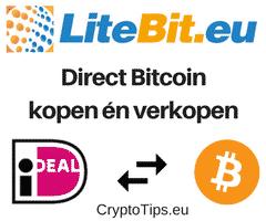 Bitcoins met iDEAL kopen bij Litebit