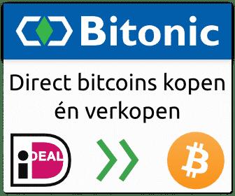 Bitcoins met iDEAL kopen bij Bitonic