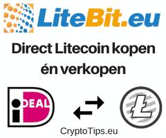 Litecoins kopen bij Litebit
