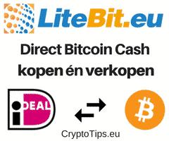 Bitcoin Cash kopen bij Litebit.eu