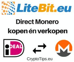 Monero kopen bij Litebit.eu