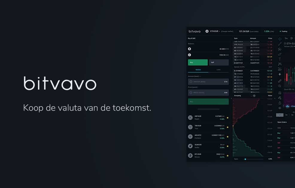 Officiele Bitvavo crypto exchange