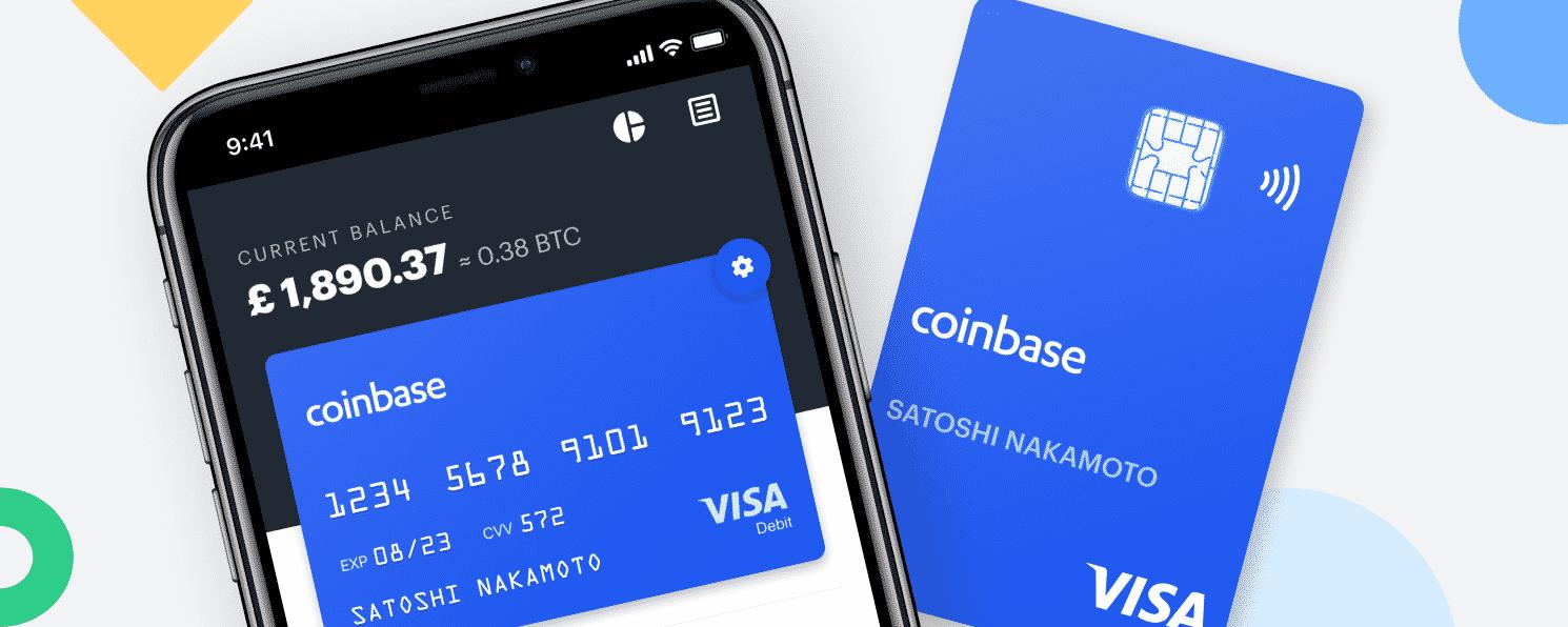 Coinbase betaalkaart