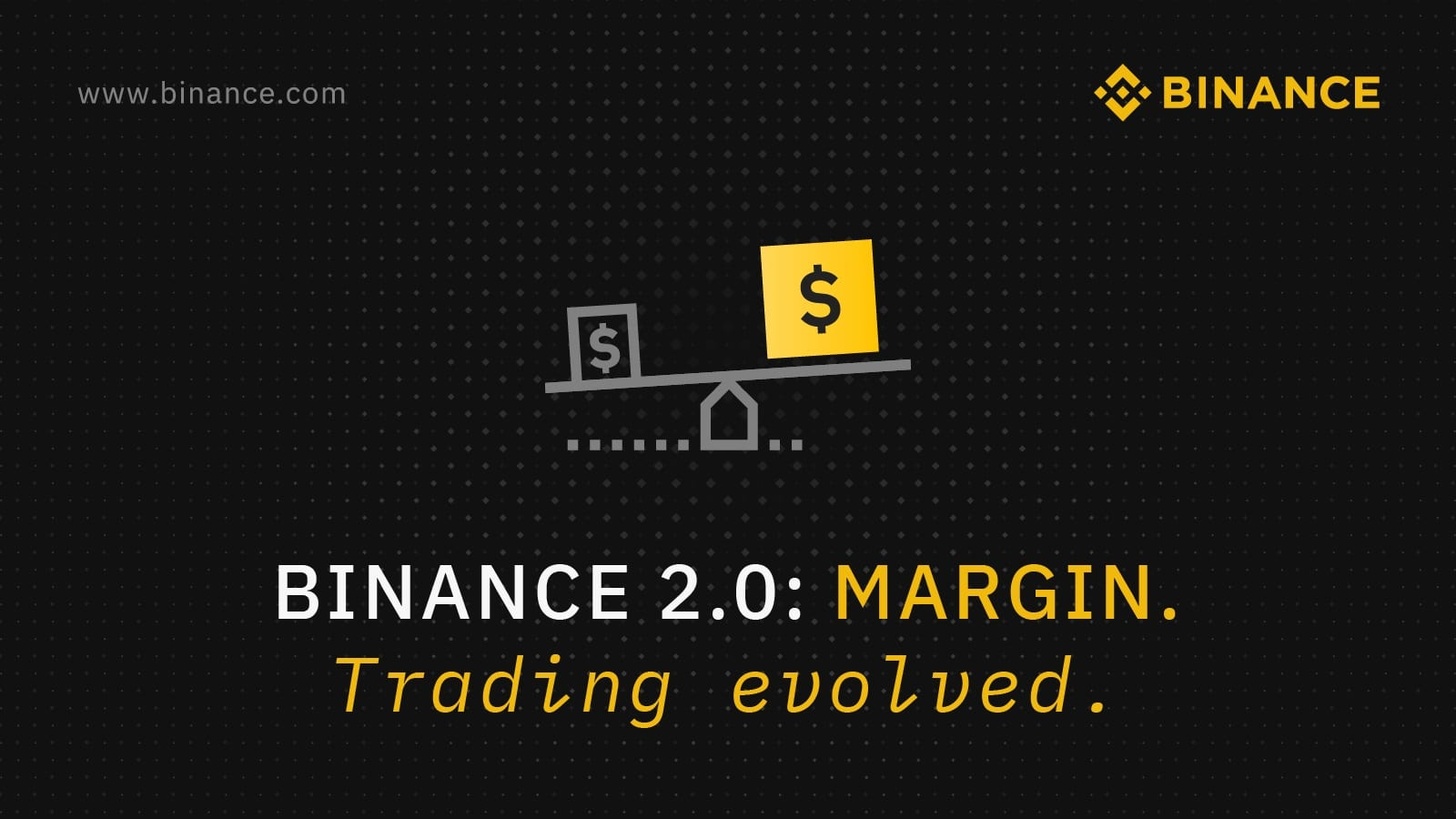 Binance 2.0 met margin trading