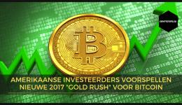 Amerikaanse investeerders voorspellen nieuwe gold rush voor Bitcoin