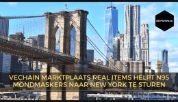 VeChain Real Items helpt N95 mondkapjes naar New York te sturen