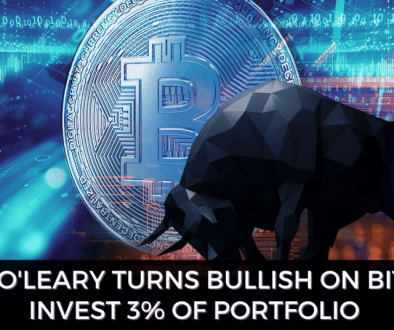 Kevin O'Leary Turns Bullish On Bitcoin, Invest 3% Of Portfolio